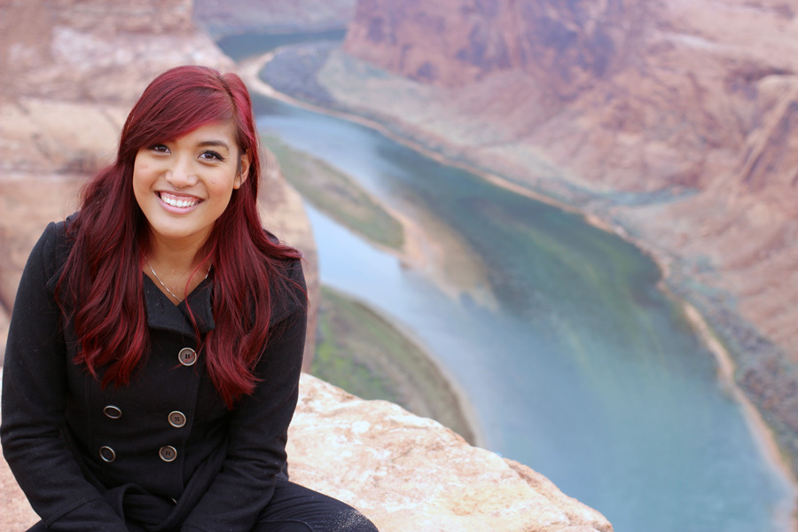 Mo at Horseshoe Bend